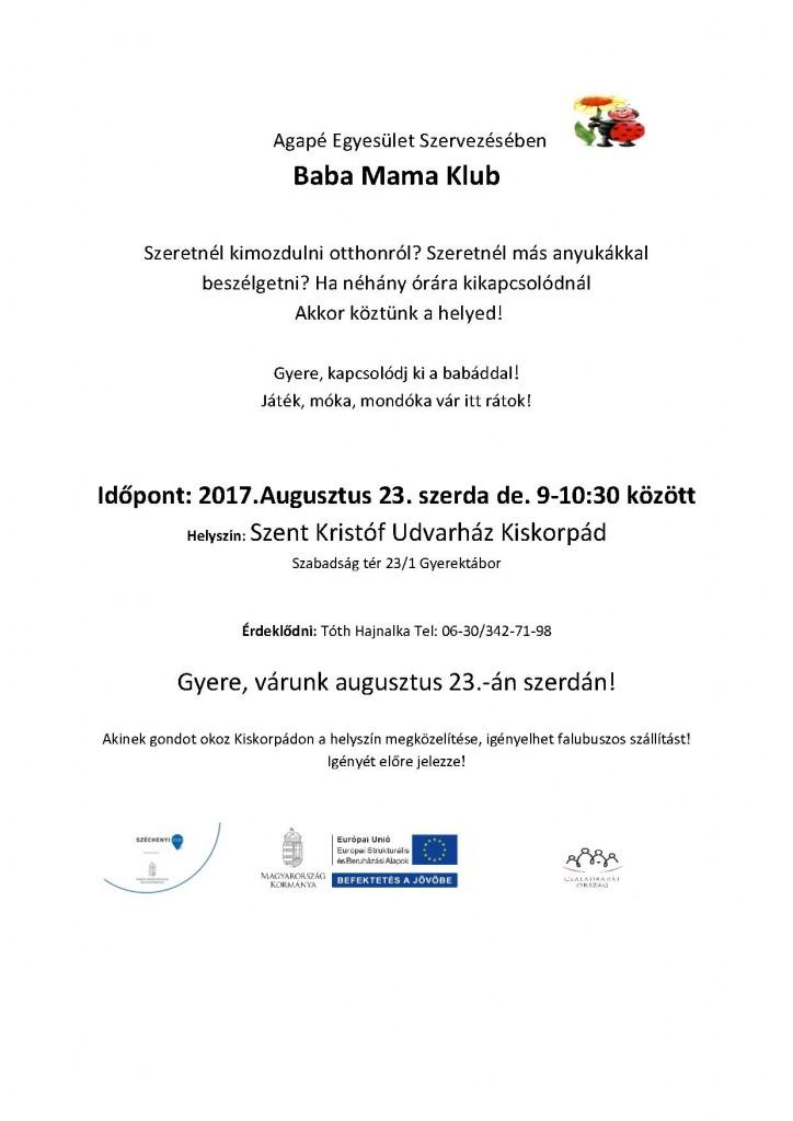 Baba Mama Klub 2017.08.23,